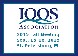 Please register for the IOOS Association 2015 Fall Meeting! The two-day meeting will be held September 15-16, 2015, in St. Petersburg Florida.